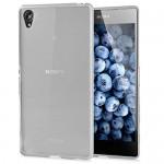 Coque TPU Glossy Blanc pour Sony Z3