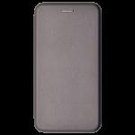 Etui Folio 360 Magnet Gris pour Huawei Y6 Pro