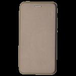 Etui Folio 360 Magnet Or pour Huawei P8 Lite 2017