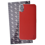 Coque Trendy Lite pour Apple iPhone X Rouge