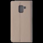 Etui Folio Magnet Or pour Samsung A8 2018