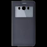 Etui Folio Fenêtre Noir pour Samsung J5 2016