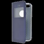 Etui Folio Fenêtre Bleu pour Apple IPhone 5/5SSE