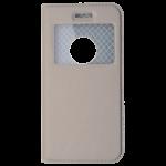 Etui Folio Fenêtre Or pour Apple IPhone 6/6S