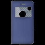 Etui Folio Fenêtre Bleu pour Apple iPhone X