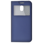 Etui Folio Fenêtre Bleu pour Samsung J3 2017