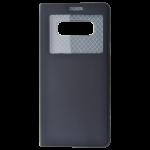 Etui Folio Fenêtre Noir pour Samsung Note 8