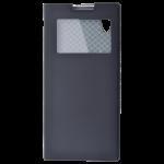 Etui Folio Fenêtre Noir pour Sony XA1