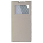 Etui Folio Fenêtre Or pour Sony XA1