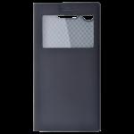 Etui Folio Fenêtre Noir pour Sony XZ1