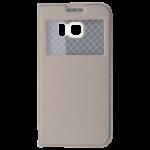Etui Folio Fenêtre Or pour Samsung S6 Edge