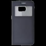 Etui Folio Fenêtre Noir pour Samsung S7 EDGE