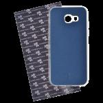 Coque Trendy Lite pour Samsung A3 2017 Bleu