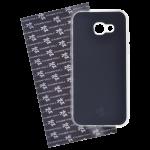 Coque Trendy Lite pour Samsung A3 2017 Noir