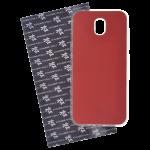 Coque Trendy Lite pour Samsung J3 2017 Rouge