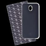 Coque Trendy Lite pour Samsung J3 2017 Noir