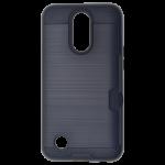 Coque Defender Card Noir pour LG K10 2017
