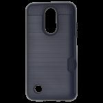 Coque Defender Card Noir pour LG K4 2017