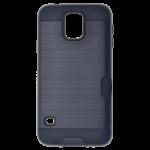 Coque Defender Card Noir pour Samsung S5