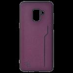 Coque Trendy Violet pour Samsung A8 2018