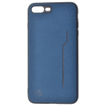Coque Trendy Bleu pour Apple iPhone 7/8 Plus