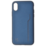 Coque Trendy Bleu pour Apple iPhone X