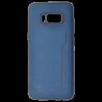 Coque Trendy Bleu pour Samsung S8
