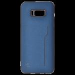 Coque Trendy Bleu pour Samsung S8 Plus