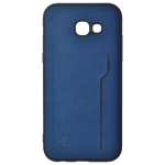 Coque Trendy Bleu pour Samsung A5 2017