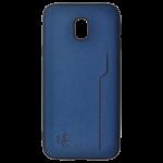 Coque Trendy Bleu pour Samsung J3 2017