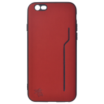Coque Trendy Rouge pour Apple iPhone 6/6S