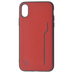 Coque Trendy Rouge pour Apple iPhone X