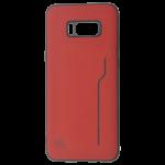 Coque Trendy Rouge pour Samsung S8 Plus