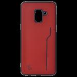 Coque Trendy Rouge pour Samsung A8 2018
