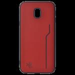 Coque Trendy Rouge pour Samsung J3 2017