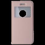 Etui Folio Fenêtre Rose pour Apple IPhone 5/5S/SE