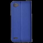 Etui Folio Magnet Bleu pour LG Q6