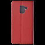 Etui Folio Magnet Rouge pour Samsung A8 2018