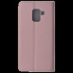 Etui Folio Magnet Rose pour Samsung A8 2018