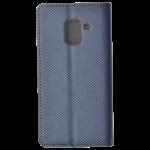 Etui Folio Magnet Gris pour Samsung A8 2018