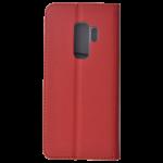 Etui Folio Magnet Rouge pour Samsung S9 Plus