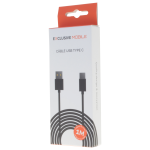 Cable USB Type C 1M Noir - Packaging