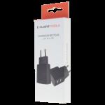 Chargeur Secteur Double USB 2.4A Noir - Packaging