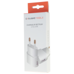 Chargeur Secteur 1xUSB 1A Blanc - Packaging