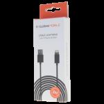 Câble Lightning Compatible 2M Noir - Packaging