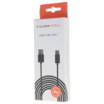 Cable USB Type C 3M Noir - Packaging