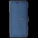Étui Folio Trendy Bleu pour Samsung A6 Plus 2018