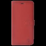 Étui Folio Trendy Rouge pour Samsung A6 Plus 2018