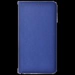Etui Folio Magnet Bleu pour Motorola E4 Plus