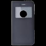 Etui Folio Fenetre Noir pour Apple iPhone 6/6S Plus